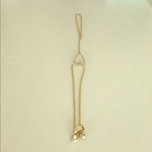 Kendra Scott mother pearl adjustable bracelet